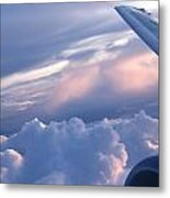 Sunrise Over The Wing Metal Print