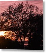 Sunset Metal Print by Saifon Anaya