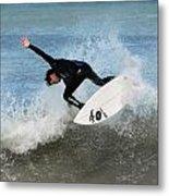 Surfing 395 Metal Print by Joyce StJames