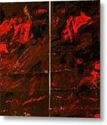 Symphony No. 8 Movement 13 Vladimir Vlahovic- Images Inspired By The Music Of Gustav Mahler Metal Print