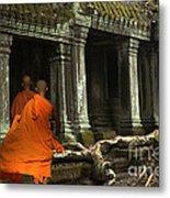 Ta Prohm Cambodia Metal Print