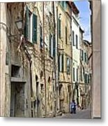 Taggia In Liguria Metal Print