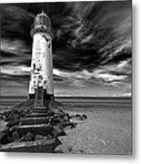 Talacre Lighthouse Metal Print