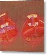 Tavira Boats Metal Print