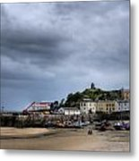 Tenby Harbour From North Beach 2 Metal Print