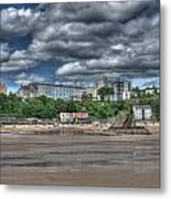 Tenby North Beach Metal Print