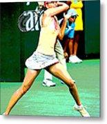 Tennis Art Metal Print
