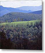 The Allegheny Front, North Fork Metal Print by Raymond Gehman