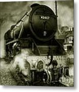 The Black Five Metal Print