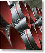 The Boosters Of The Soyuz Tma-14 Metal Print