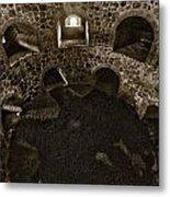 The Castle Of Tavastehus Bw Metal Print
