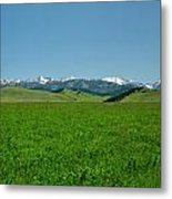 The Crazy Mountains Metal Print