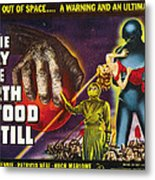 The Day The Earth Stood Still, 1951 Metal Print