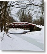 The Delaware Canal At Washington's Crossing Metal Print by Bill Cannon