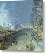 The El Metal Print by Childe Hassam