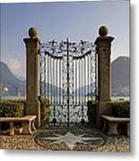 The Gateway To Lago Di Lugano Metal Print