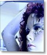 The Girl Metal Print
