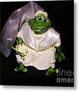 The Green Bride Metal Print