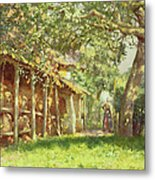 The Gypsy Camp Metal Print