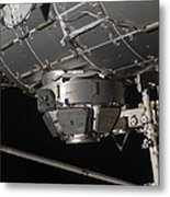 The International Space Stations Metal Print