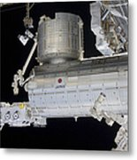 The Japanese Experiment Module Kibo Metal Print
