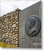 The John F. Kennedy Memorial At Veterans Memorial Park In Hyanni Metal Print