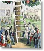 The Ladder Of Fortune Metal Print