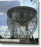 The Lovell Telescope At Jodrell Bank Metal Print