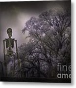 The March Of Fall Metal Print