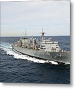 The Military Sealift Command Fast Metal Print