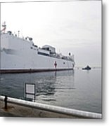 The Military Sealift Command Hospital Metal Print