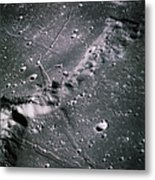 The Moon From Apollo 14 Metal Print