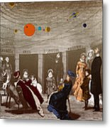 The New Planetarium In Paris, 1880 Metal Print