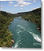 The Niagara River Metal Print