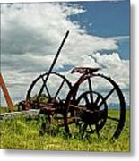 The Old Sythe Metal Print