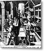 The Printing Of Books Metal Print