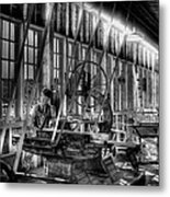 The Red Barn Of The Boeing Company Iv Metal Print