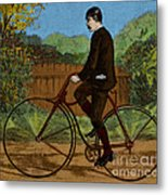 The Rover Bicycle Metal Print