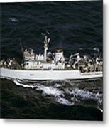 The Royal Navy Mine Countermeasures Metal Print