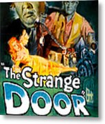 The Strange Door, Charles Laughton Metal Print by Everett