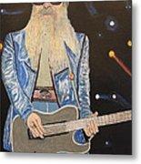 The Tone Master.billy Gibbons. Metal Print by Ken Zabel