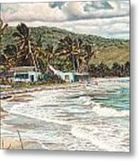 The Water Front   Metal Print by Gregory Jules