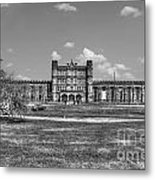 The West Virginia State Penitentiary Front Metal Print