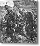 The Zulu War, 1879 Metal Print