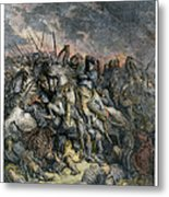 Third Crusade, 1191 Metal Print