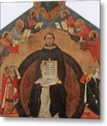 Thomas Aquinas, Italian Philosopher Metal Print by Photo Researchers