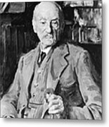 Thomas Hardy (1840-1928) Metal Print