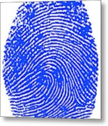 Thumbprint Metal Print