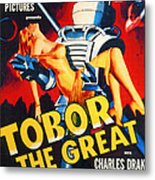 Tobor The Great, 1954 Metal Print by Everett
