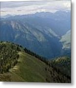 Top Of The World View Metal Print